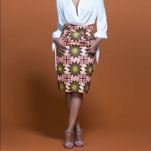 Dresses & Skirts - African Print Pencil Skirt